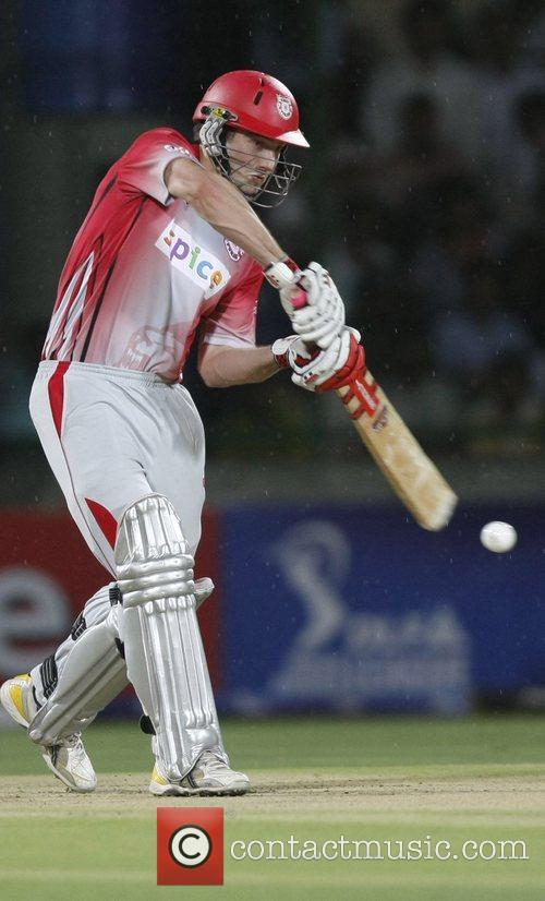 Shaun Marsh of Kings XI Punjab during the...