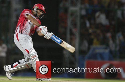 Yuvraj Singh, captain of Kings XI Punjab during...