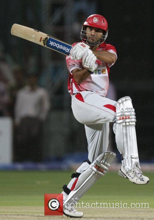 Yuvraj Singh, captain of Kings XI Punjab team...