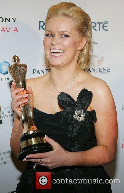 Author Cecilia Ahern - Award for the film...