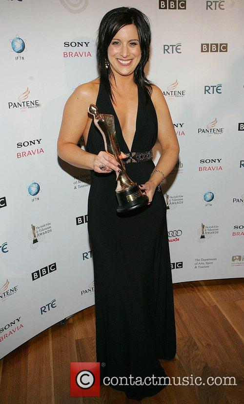 Lucy Kennedy - Winner of the Best Entertainment...