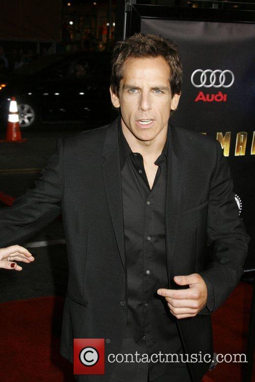Ben Stiller Los Angeles Premiere of 'Iron Man'...