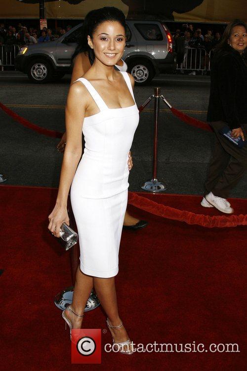 Emmanuelle Chriqui Los Angeles Premiere of 'Iron Man'...