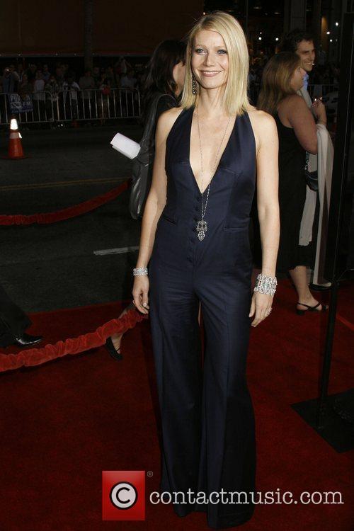 Gwyneth Paltrow Los Angeles Premiere of 'Iron Man'...