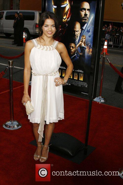 Jenna Dewan Los Angeles Premiere of 'Iron Man'...