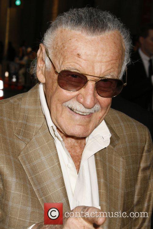 Stan Lee Los Angeles Premiere of 'Iron Man'...