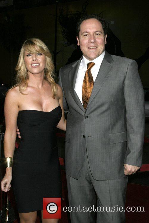 Jon Favreau and wife Joya Tillem Los Angeles...
