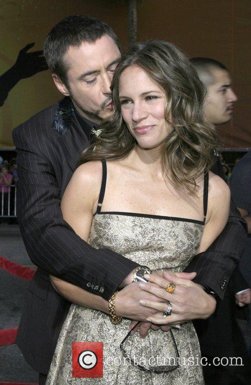 Robert Downey Jr and Susan Downey Los Angeles...