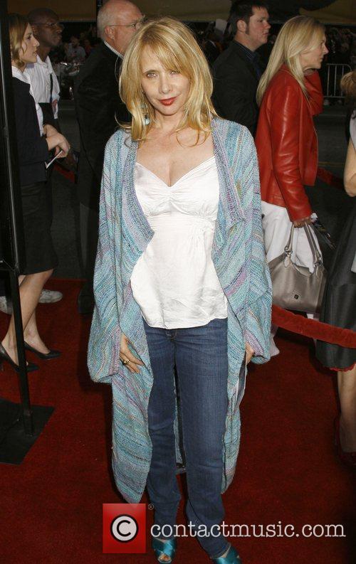 Rosanna Arquette Los Angeles Premiere of 'Iron Man'...