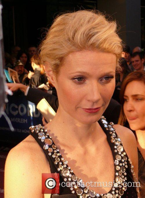 Gwyneth Paltrow German premiere of Iron Man at...