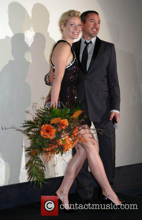 Gwyneth Paltrow, Robert Downey Jr. German premiere of...