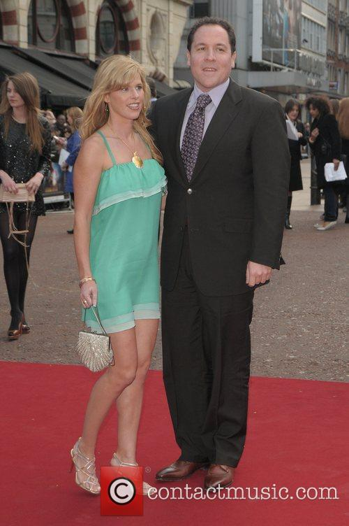 Jon Favreau and his wife Joya Tillem UK...