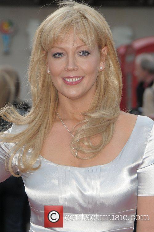 Liz Fuller at the UK film premiere of...
