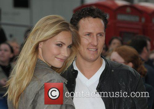Brandon Cole at the UK film premiere of...