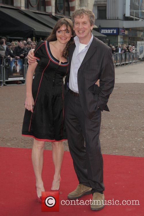Frank Skinner at the UK film premiere of...