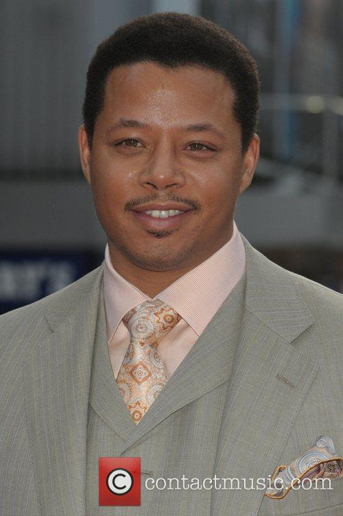 Terrence Howard at the UK film premiere of...