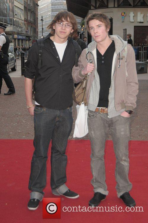 Mike Bailey and Joe Dempsie at the UK...