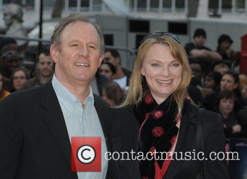 Peter Davison at the UK film premiere of...