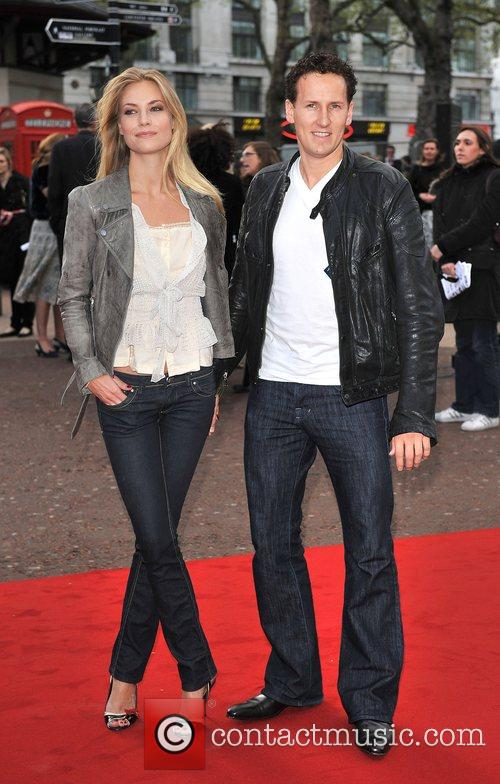 Brendan Cole UK film premiere of 'Iron Man'...