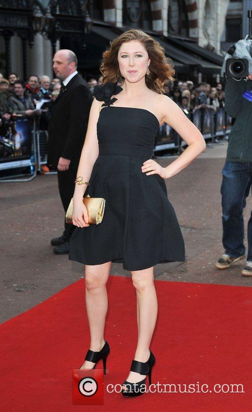 Hayley Westenra UK film premiere of 'Iron Man'...