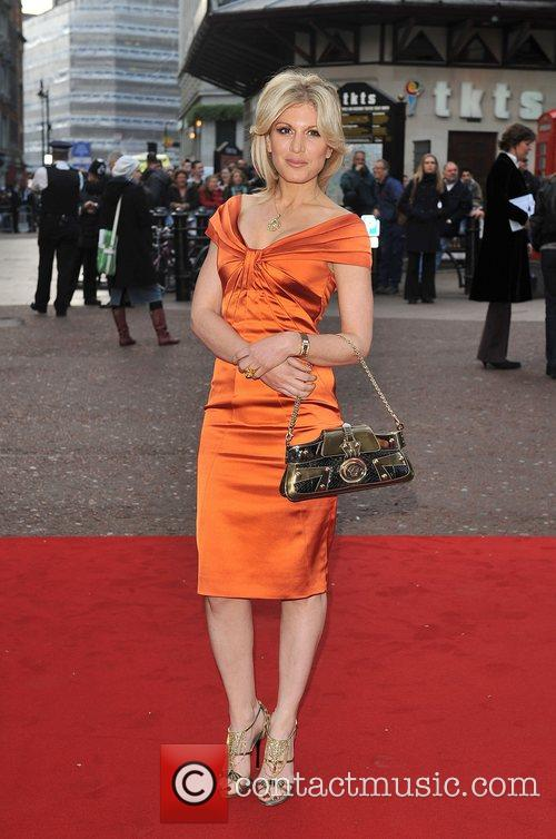 Hofit Golan UK film premiere of 'Iron Man'...