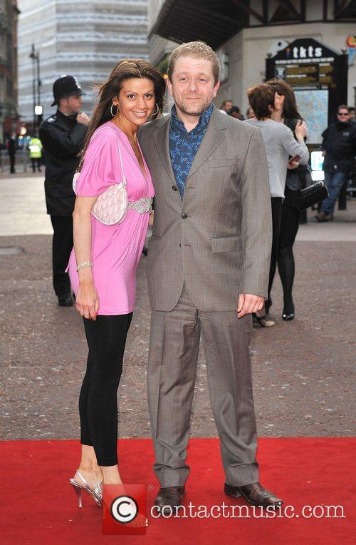 Jon Culshaw UK film premiere of 'Iron Man'...