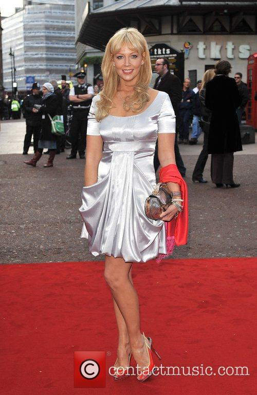 Liz Fuller UK film premiere of 'Iron Man'...