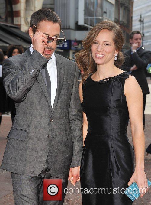 Robert Downey Jr and Susan Downey UK film...