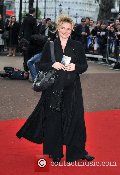 Sharon Small UK film premiere of 'Iron Man'...