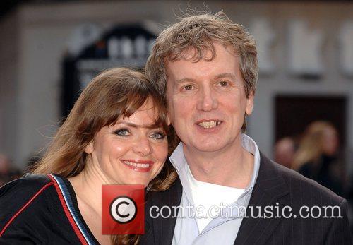 Frank Skinner  UK film premiere of 'Iron...