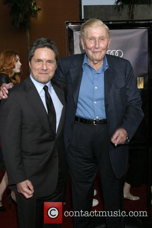 Brad Grey and Sumner Redstone Los Angeles Premiere...