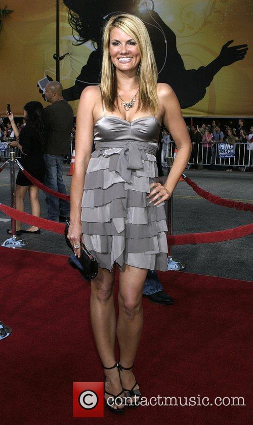 Courtney Hansen Los Angeles Premiere of 'Iron Man'...