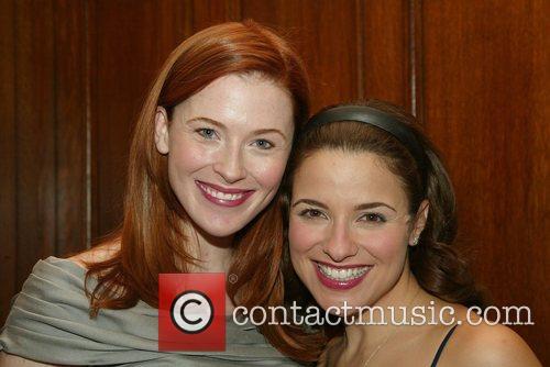 Bridget Regan and Jenn Gambatese Opening night performance...