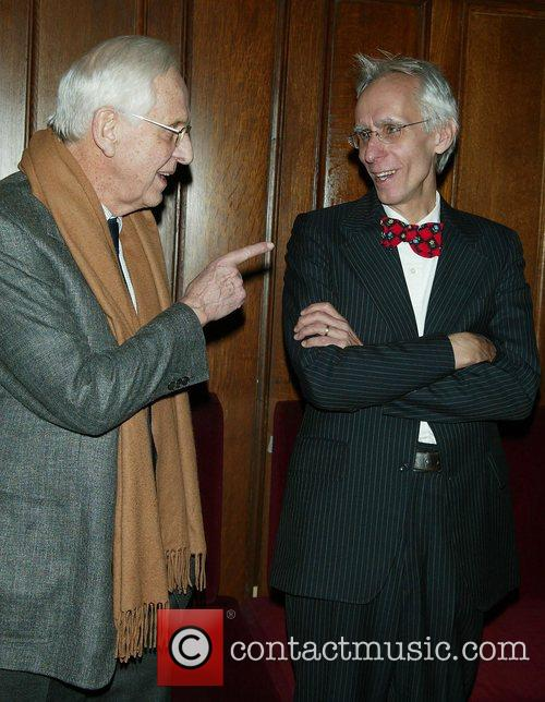 Michael Blakemore and David Ives Opening night performance...