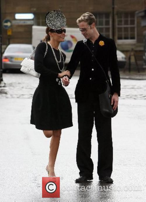 Tara Palmer-Tomkinson and Guest The funeral of style...