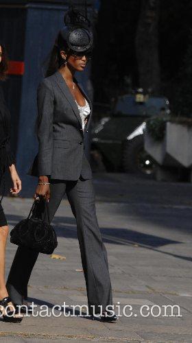 Memorial service for the fashion designer Isabella Blow...