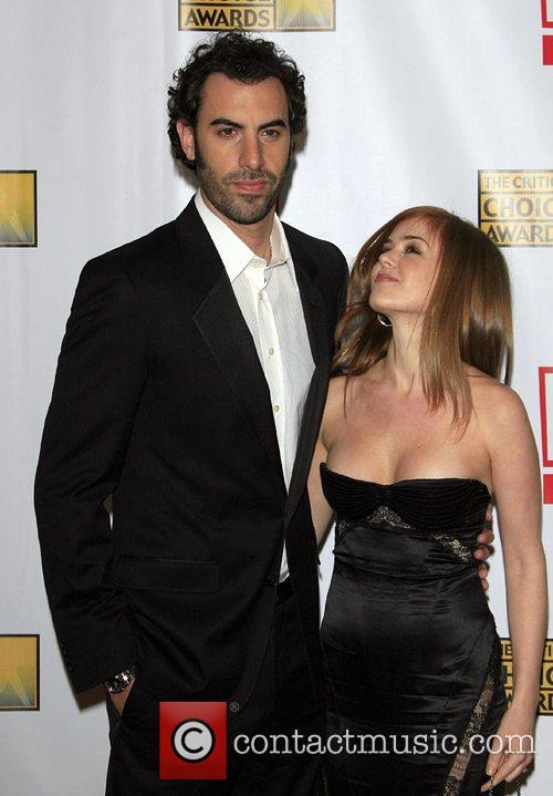 Isla Fisher, Sacha Baron Cohen and Wedding Crashers 1
