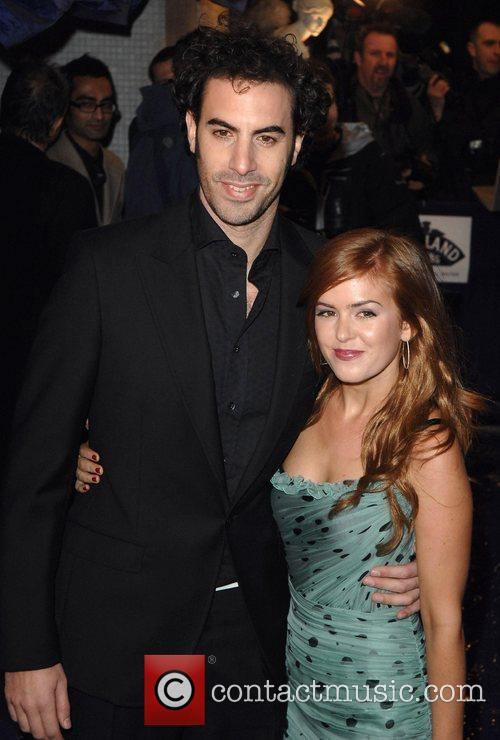Isla Fisher, Sacha Baron Cohen and Wedding Crashers 3