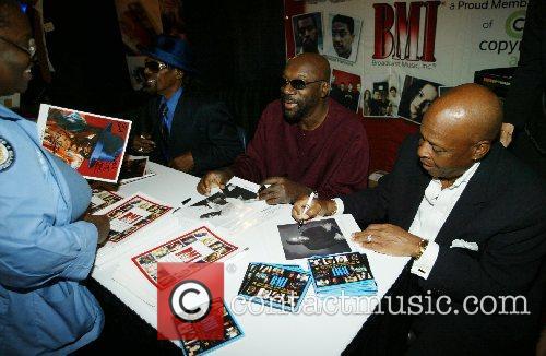 Isaac Hayes, Chuck Brown and David Porter 8