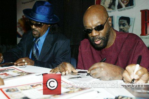 Isaac Hayes and Chuck Brown 4