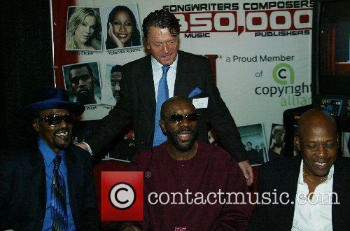 Isaac Hayes, Chuck Brown and David Porter 9