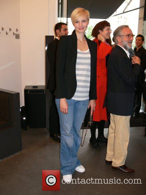 Susann Atwell German premiere of the Label Italia...