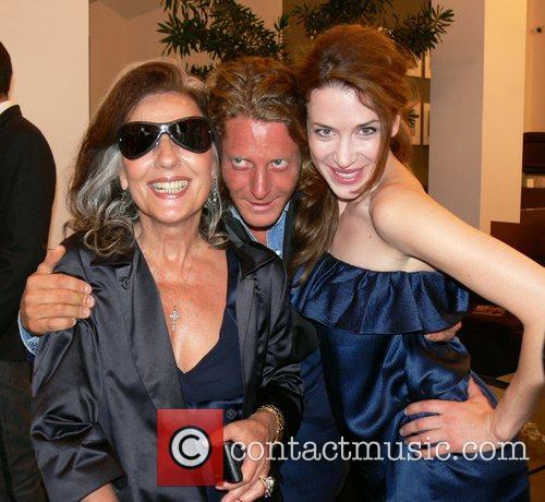 Angelica Blechschmidt, Lapo Elkann and Julia Malik German...