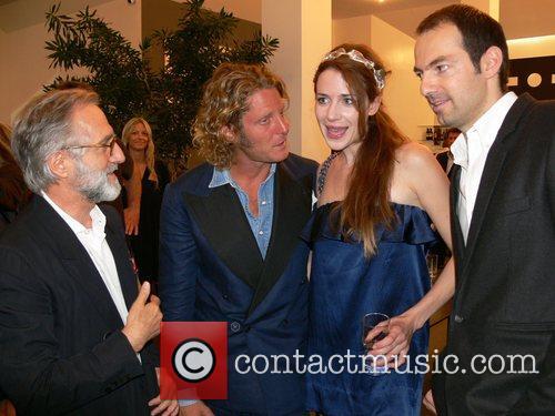 Josef Voelkl, Lapo Elkann, Julia Malik and Emmanuel...