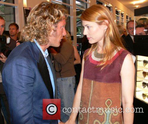 Lapo Elkann and Celia von Bismarck German premiere...