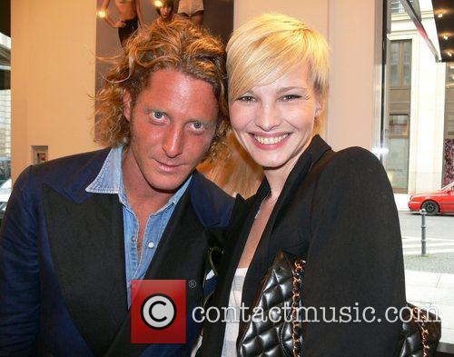 Lapo Elkann and Susann Atwell German premiere of...