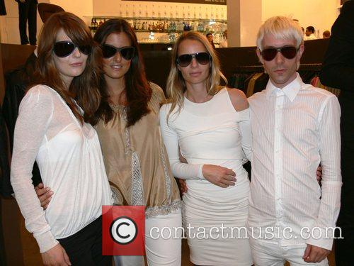 Models German premiere of the Label Italia Independent...
