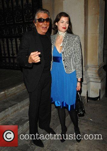 Roberto Cavalli and Jasmine Guinness 2