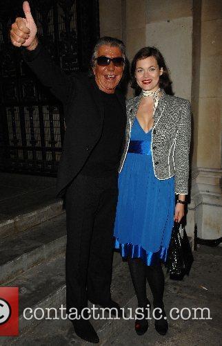 Roberto Cavalli and Jasmine Guinness 3