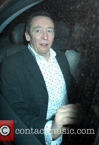 Paul Whitehouse,  at the Ivy restaurant London,...